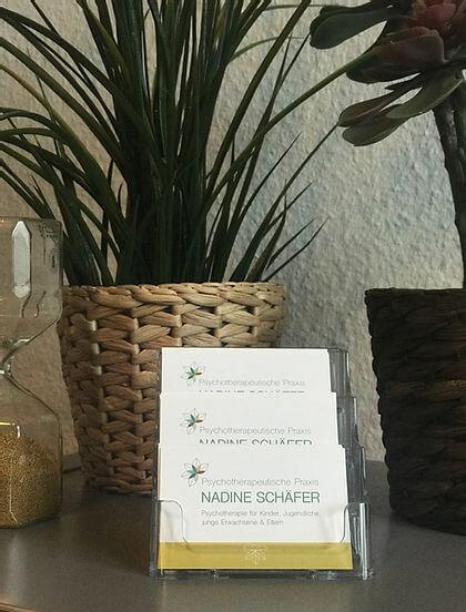 Psychotherapie Nadine Schäfer in Essen Altendorf für Kinder, Jugendliche und junge Erwachsene | Empfang